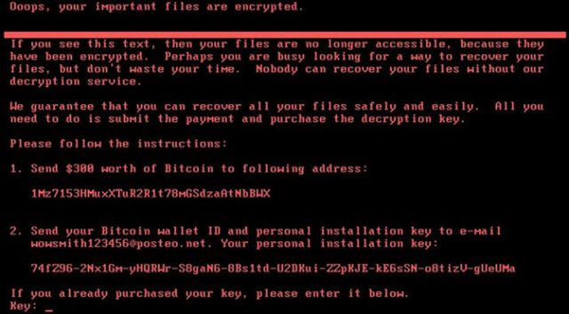 Latest Ransomware attack #NotPetya